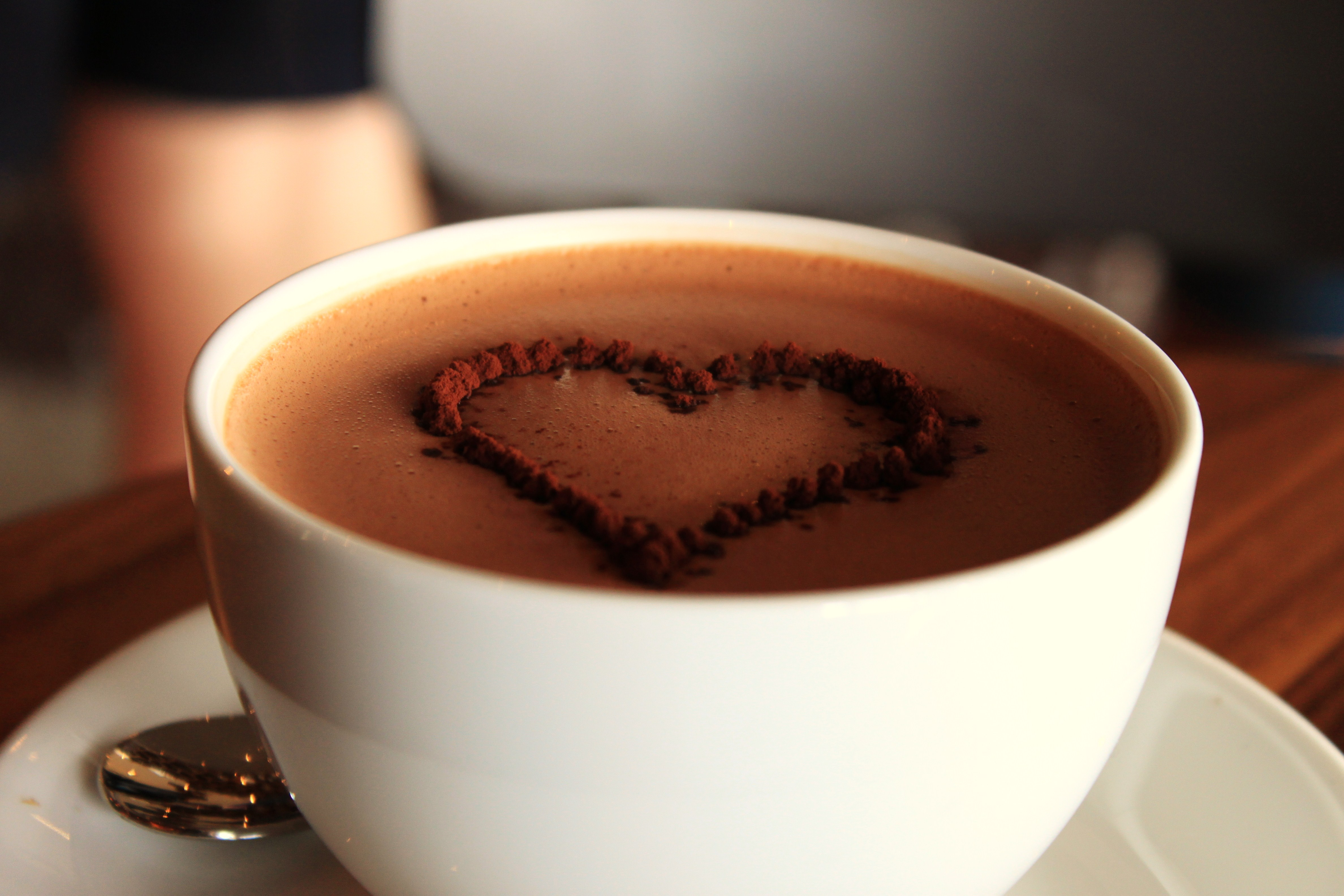 Spicy chocolademelk: for the looooove …