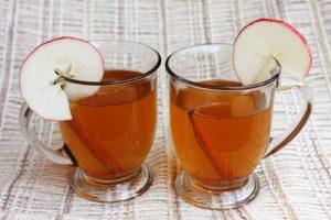 Over kaneel en chai thee met appelsap