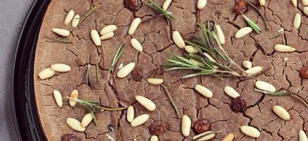 Over rozemarijn en glutenvrije kastanje cake